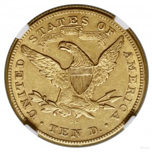 10 dolarów, 1875 CC, mennica Carson City; typ Liberty H...