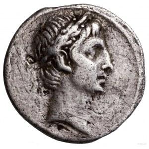 Denar, ok. 30–27 pne, mennica w Italii; Aw: Głowa Oktaw...