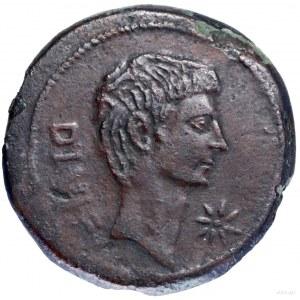 Sestercja lub dupondius, 38 pne, mennica w Italii; Aw: ...