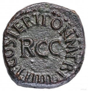 Kwadrans, 40–41, Rzym; Aw: Pileus, po bokach S - C, C C...