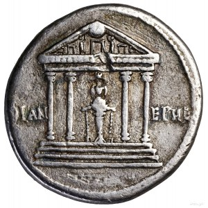 Cystofor, ok. 41–51, Efez; Aw: Głowa cesarza w lewo, TI...