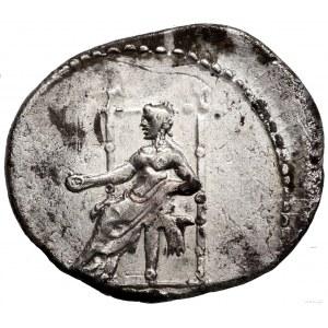 Denar, 66–67, Rzym; Aw: Głowa cesarza w wieńcu laurowym...