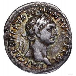 Denar, 98–99, Rzym; Aw: Głowa cesarza w wieńcu laurowym...