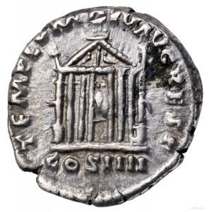 Denar, 145–161, Rzym; Aw: Głowa cesarza w wieńcu laurow...