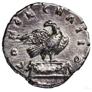 Denar pośmiertny, po 180 roku, Rzym; Aw: Głowa cesarza ...