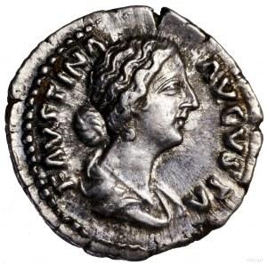 Denar, 161–164, Rzym; Aw: Popiersie cesarzowej w prawo,...