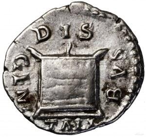Denar, 180, Rzym; Aw: Popiersie cesarzowej w prawo, FAV...