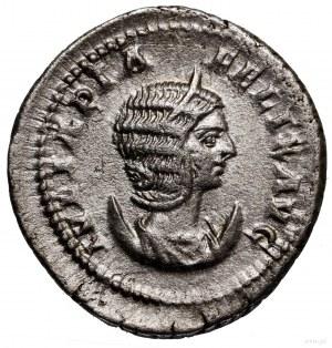 Antoninian, 215–217, Rzym; Aw: Popiersie cesarzowej w p...