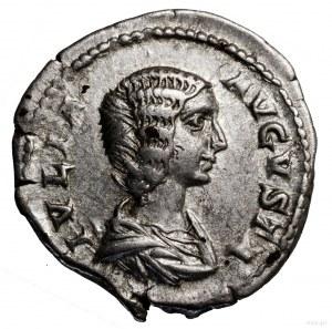 Denar, 193–196, Rzym; Aw: Popiersie cesarzowej w prawo,...