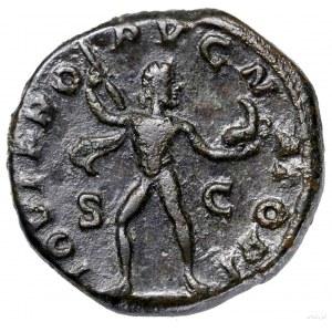 Dupondius, 231–235, Rzym; Aw: Głowa cesarza w koronie r...