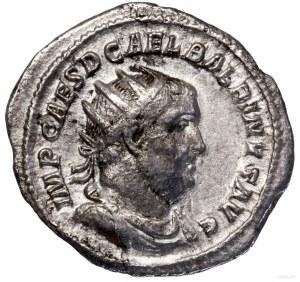 Antoninian, 238, Rzym; Aw: Popiersie cesarza w koronie ...
