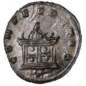 Antoninian bilonowy (pośmiertny), 270–271 (wybity za pa...