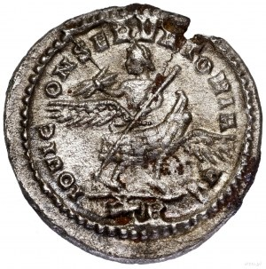Argenteus bilonowy, 318–319, Trewir; Aw: Popiersie wład...