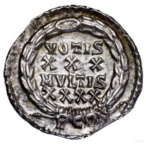 Silikwa, 360–363, Arles; Aw: Popiersie cesarza w prawo,...