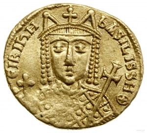 Solidus, 797–802, Konstantynopol; Aw: Popiersie Ireny t...