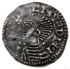 Naśladownictwo denara anglosaskiego typu Long Cross; Aw...