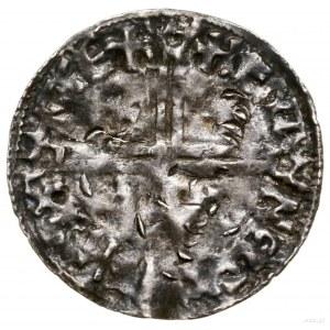 Naśladownictwo denara anglosaskiego typu Long Cross; XI...