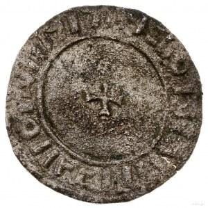 Naśladownictwo denara anglosaskiego typu Small Cross; A...