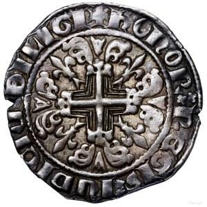 Grosz (gigliato), bez daty (1312–1317), Neapol; Aw: Wła...