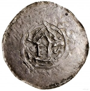 Naśladownictwo denara saskiego Ottona iAdelajdy; Aw: K...