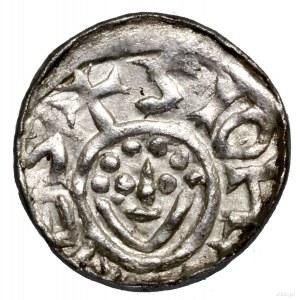 Denar, bez daty (1097–1107), Wrocław; Aw: Monogram SI, ...