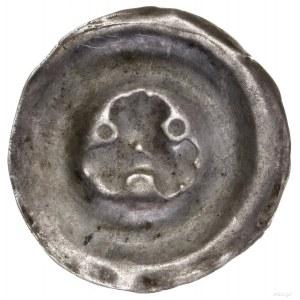 Obol brakteatowy (?), 1230–1290; Rozeta o trzech trójdz...