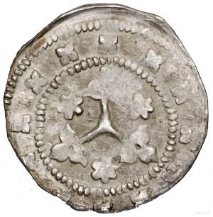 Kwartnik, bez daty (1303–1334); Aw: Hełm rycerski zozd...
