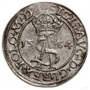 Trojak, 1564, Wilno; końcówki napisów L / L, naawersie...