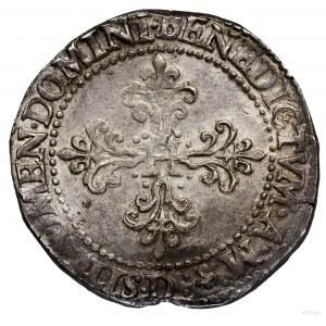 Frank, 1578 D, Lyon; data w otoku, pod popiersiem władc...