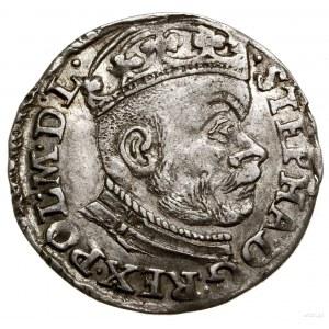 Trojak, 1583, Olkusz; litery I-D (Jana Dulskiego) rozdz...