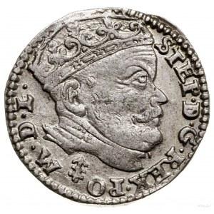 Trojak, 1585, Wilno; herb Lis naawersie między PO a M;...