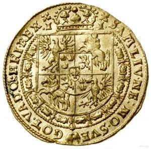 Dukat, 1628, Bydgoszcz; Aw: Popiersie króla w prawo w z...