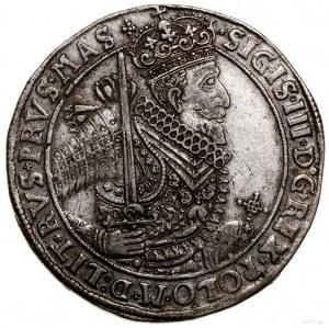 Talar, 1628, Bydgoszcz; Aw: Półpostać króla z szarfą do...