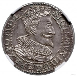 Szóstak, 1596, Malbork; małe popiersie króla; Kop. 1240...