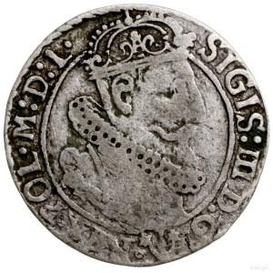 Szóstak, 1624, Bydgoszcz; rzadka odmiana bez nominału V...