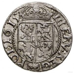 Trzykrucierzówka, 1615, Kraków; ciekawy wariant z przeb...