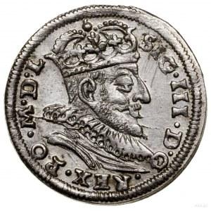 Trojak, 1590, Wilno; typ monety z herbem Chalecki pomię...