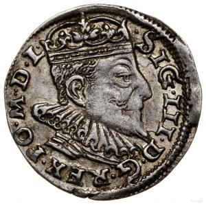 Trojak, 1593, Wilno; u dołu rewersu herb Chalecki rozdz...