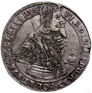 Talar, 1638, Toruń; Aw: Półpostać króla w prawo, trzyma...