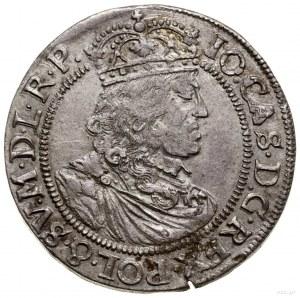 Ort, 1658, Kraków; herb Wieniawa i inicjały T.L.B. (Tyt...