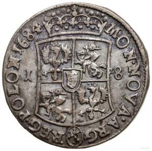 Ort, 1684, Bydgoszcz; inicjały TLB (Tytus Liwiusz Borat...