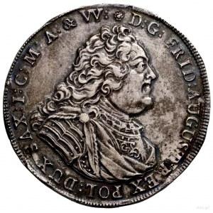 Talar, 1741, Drezno; Aw: Popiersie władcy w prawo, D G ...