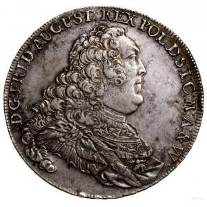 Talar, 1756, Drezno; Aw: Popiersie króla w prawo, wokoł...