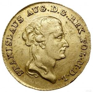 3 dukaty (stanislaus d'or), 1794, Warszawa; Aw: Głowa k...