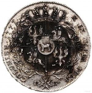 Talar, 1777, Warszawa; odmiana z końcówką napisu LITH; ...