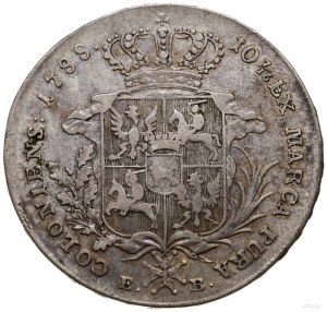 Talar, 1788, Warszawa; Aw: Głowa króla w prawo, STANISL...