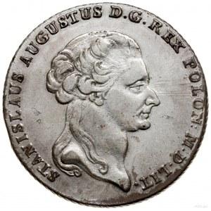 Talar, 1795, Warszawa; Aw: Głowa króla w prawo, legenda...