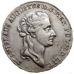 Półtalar, 1788 EB, Warszawa; Aw: Głowa króla w prawo, w...
