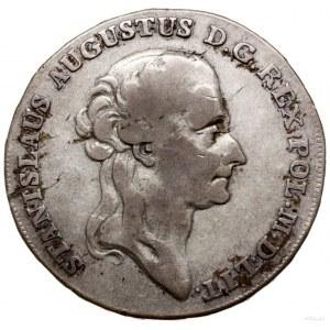Półtalar, 1788 EB, Warszawa; Aw: Głowa króla zwrócona w...