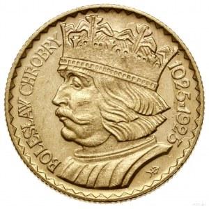 20 złotych, 1925, Warszawa; moneta wybita na pamiątkę 9...